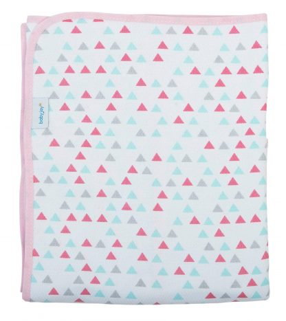 Cobertor Estampado Feminino - Rosa - RS - U