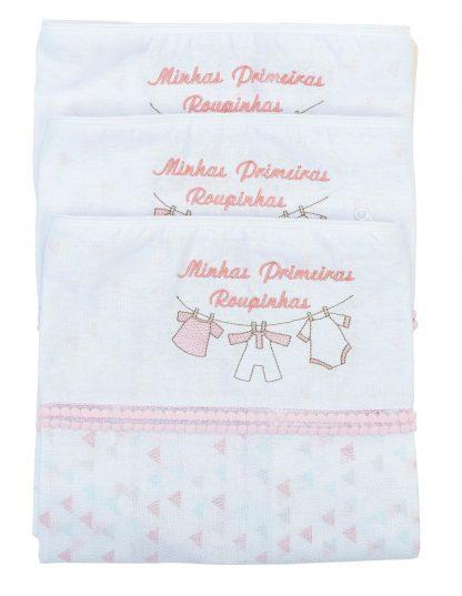 Kit Saquinho Maternidade 3 peças Bebê