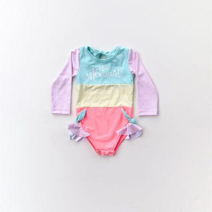 Maiô Manga Longa Bebê UV50