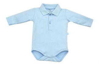 Body Polo Manga Longa Bebê