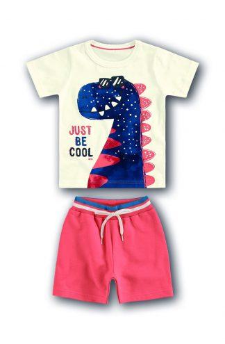 Conjunto Camiseta, Regata e Bermuda Três peças