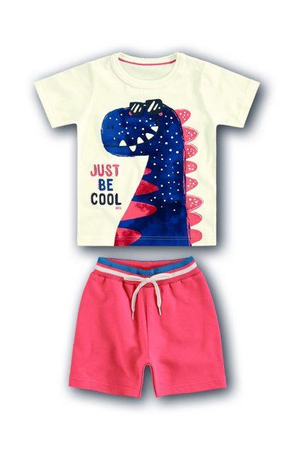 Conjunto Camiseta, Regata e Bermuda Três peças - Laranja - 12