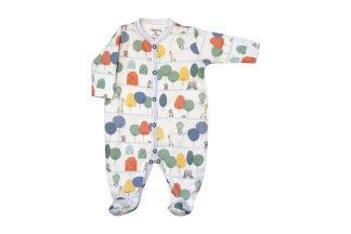 Macacão Longo Suedine Corrido Sustentável Bebê