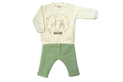 Conjunto Blusão e Calça Nature Feminino - Verde