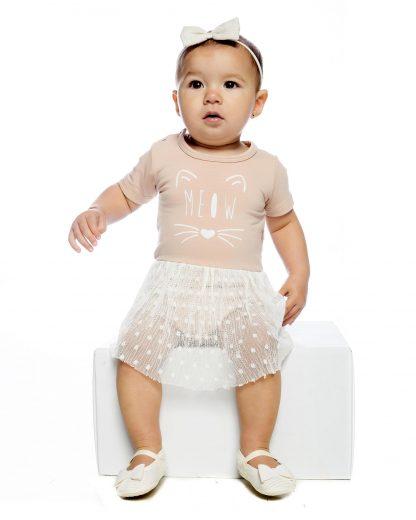 Body Vestido - Rosa