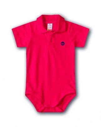 Body Polo Bebê Menino - Vermelho - 3