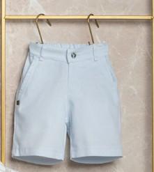 Conjunto Estiloso Camisa e Bermuda Menino