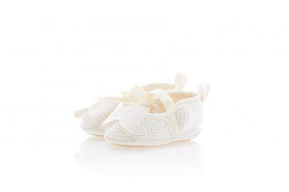 Sapatilha Bebê Menina - Branco - 5