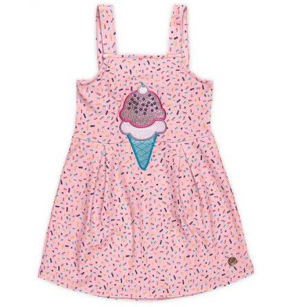 Vestido Estampa Sorvetinho Menina
