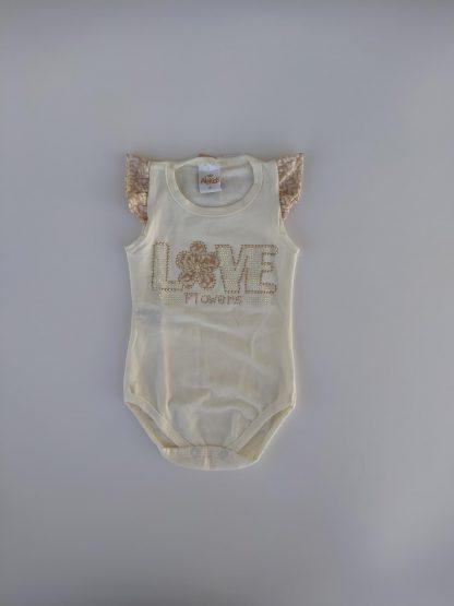 Conjunto Estiloso Body e Calça Bebê