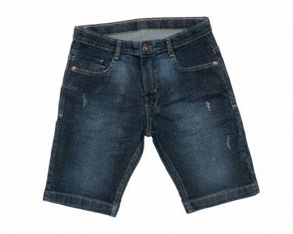 Bermuda Jeans Infantil - Azul - 10