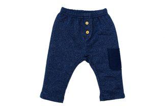 Calça Moletom Jeans - Marinho