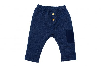 Calça Moletom Jeans Bebê