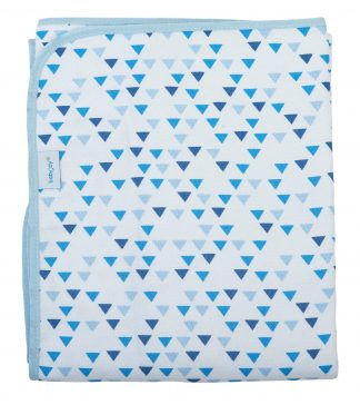 Cobertor Estampado Masculino - Azul