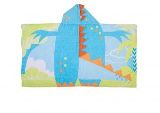 Toalha 3D Dino - Azul