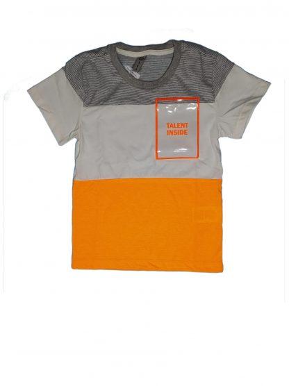 Conjunto Infantil Camiseta Neon e Bermuda