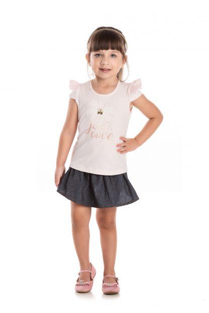Blusa Infantil Menina - Rosa - 3