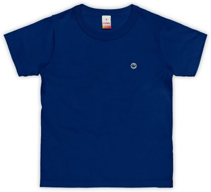 Camiseta Infantil Menino - Azul-marinho - 18