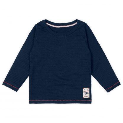 Camiseta Manga Longa - Azul-marinho - 8