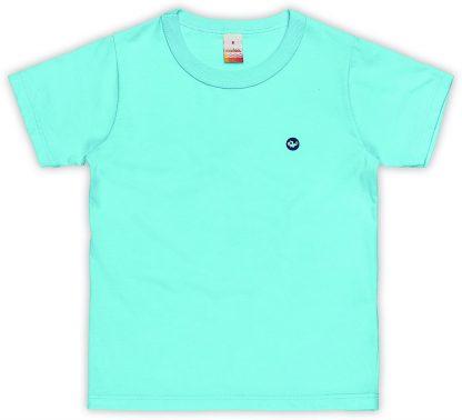 Camiseta Infantil Menino - Azul-turquesa - 18