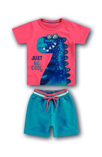 Conjunto Camiseta, Regata e Bermuda Três peças - Azul - 12
