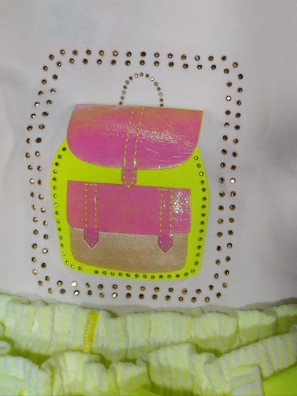 Conjunto Blusa e Short Neon Menina