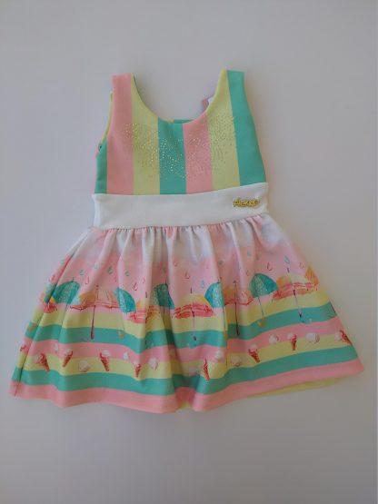 Vestido Bebê Menina - Verde - G