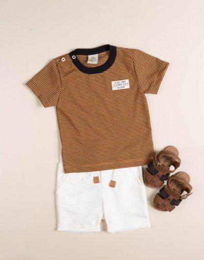 Conjunto Bebê Camiseta e Bermuda