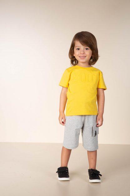 Conjunto Infantil Menino, Camiseta e Bermuda